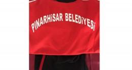 Başkan Cingöz Pınarhisarspor'a eşofman takımı verdi