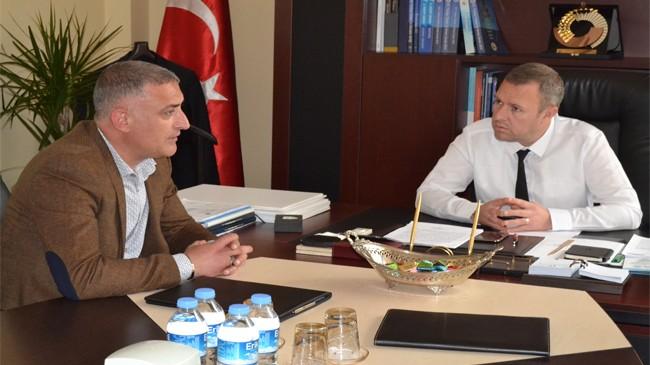 """Kırklareli MHP'den KTSO Başkanı Ilık'a """"Hayırlı olsun"""" ziyareti yapıldı"""