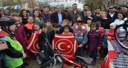 """AK Parti Kırklareli İl Gençlik Kolları """"Uçurtma Şenliği"""" düzenledi"""