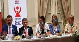 TOBB Kadın Girişimciler Kurulu İl Başkanları, Ticaret Bakanı Pekcan'ı ziyaret etti
