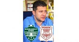 """""""Pendikspor maçına hazırlanıyoruz"""""""