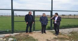 Vali Bilgin, Kırklarelispor'un Antrenman Tesisleri'ni gezdi