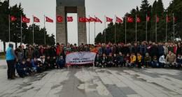 Kırklarelili gençler Çanakkale'yi gezdi