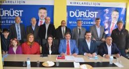 Saadet Partisi, Kırklareli Adaylarını Tanıttı