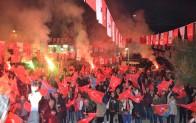 """Karahıdır """"Başkan Tuna Soykan""""  sloganlarıyla inledi"""