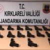 Kaçak silah operasyonunda 4 gözaltı