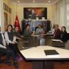 Kırklareli Türkiye Odalar ve Borsalar Birliği (TOBB) Sosyal Bilimler Lisesi'nden Başkan Soner Ilık'a teşekkür ziyareti