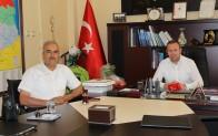 KTSO Başkanı Soner Ilık, Kırklareli Açık Ceza İnfaz Kurumu Müdürü Mustafa Tatlıca'yı ağırladı