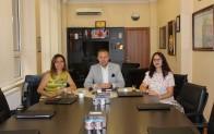 Türkiye İş Bankası A.Ş. Kırklareli Şube Müdürü Kimençe, KTSO Başkanı Soner Ilık'ı ziyaret etti