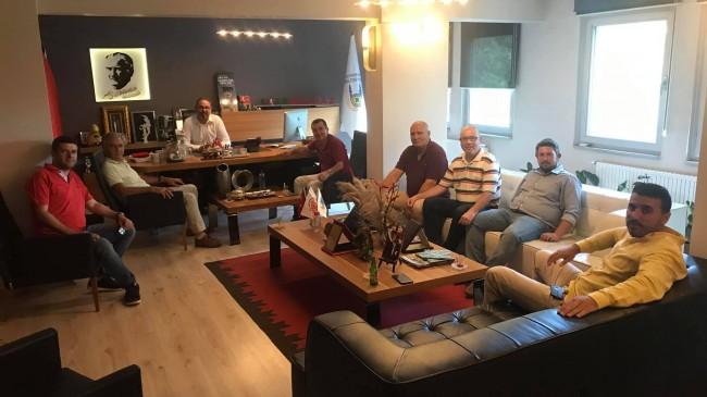 Milletvekili Turabi Kayan'dan Başkan Vekiline ziyaret