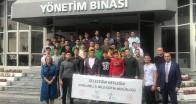 Öğrenciler, Paşabahçe Cam Sanayi Lüleburgaz Fabrikasını gezdi