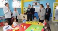 Vali Bilgin'den Okul Öncesi Değerler Eğitimi Sınıflarını ziyaret