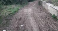Armağan köyünde 15 yıldır kullanılamayan tarla yolları açılıyor