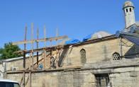 450 yıllık kubbelere restorasyon başladı