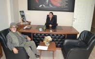 Milli Güreşçi Galip Tarhan'dan gazetemize ziyaret