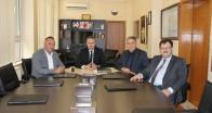 Sanayi ve Teknoloji İl Müdürü Akgül, KTSO Başkanı Ilık'ı ziyaret etti