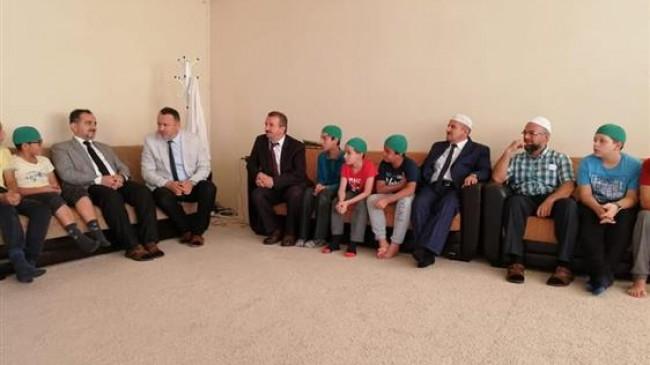 İlk Erkek Hafızlık Yatılı Kur'an Kursu Açıldı