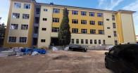 Lise inşaatı çalışmalarında sona yaklaşıldı