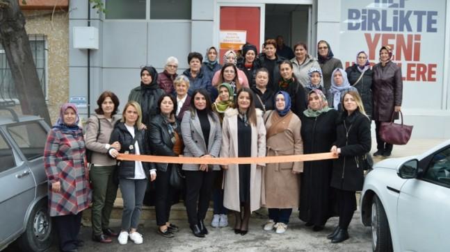 AK Kadınlar, Kırklareli'nde Turuncu Çizgiyi Çekti