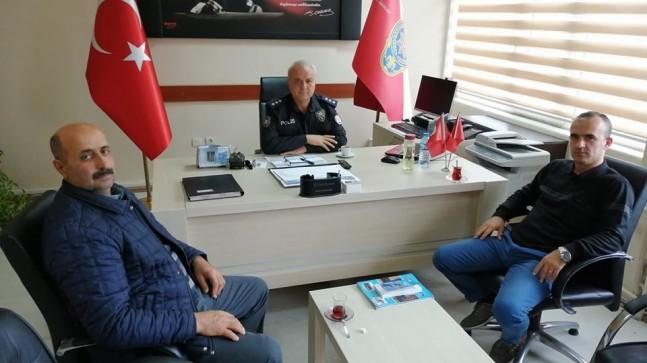 MHP'den, Kofçaz ilçesinde kurumlara ziyaret