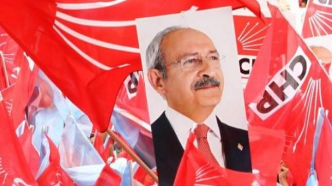 CHP Merkez ilçede kazanan Mavi iste
