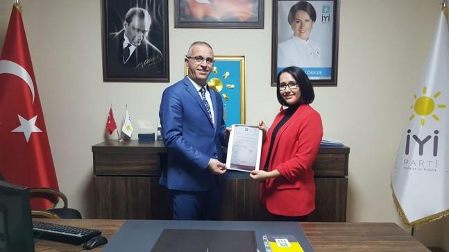 İYİ Parti Kırklareli Merkez İlçe Başkanı Nagihan Alpsoy Özçelik oldu