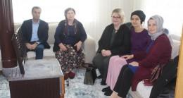 Girişimci kadınlar ziyaret edildi
