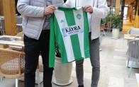 Kemal Alispahic'e Kırklarelispor forması hediye edildi
