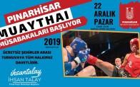 Muaythai Dövüş Sporları Pınarhisar ilçesinde