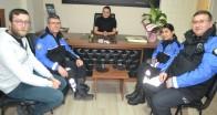 Toplum Destekli Polislerden ziyaret