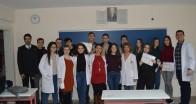 Kırklareli Final Akademi Anadolu Lisesi'nde karne heyecanı