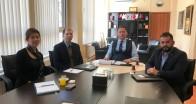 TCMB İstanbul Bölge Koordinatörü Dr. Yılmaz KTSO'yu ziyaret etti