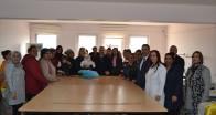 Vali Osman Bilgin eşi İlknur Bilgin ile SODAM'ı ziyaret etti