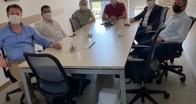 KTSO Başkanı Soner Ilık, Kırklareli OSB'de selden zarar gören firmalarıziyaret etti
