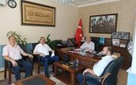 Defterdarı Mehmet Durusoy'dan Kırklareli Müftülüğüne ziyaret