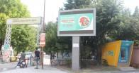 Projeler bilboardlarda yayınlandı