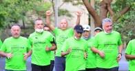 """""""Yeşil Hareket ve Sağlık"""" için koştular"""