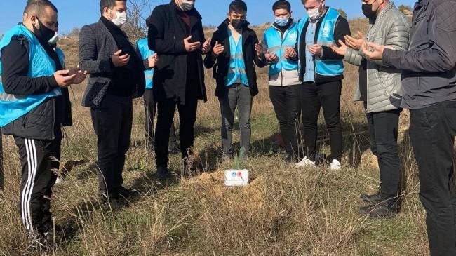 Kırklareli Ülkü Ocakları, Alparslan Türkeş'i unutmadı