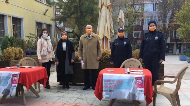 Kadına Yönelik Şiddetle Uluslararası Mücadele Günü etkinliği düzenlendi
