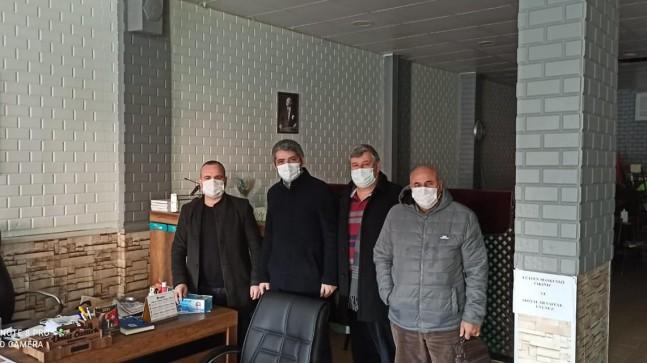 CHP'den muhtarlara ziyaret