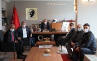 Yılmaz Canpolat'tan Başkan Gerenli'ye ziyaret