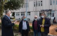 Başkan Murat Gerenli vatandaşı dinledi
