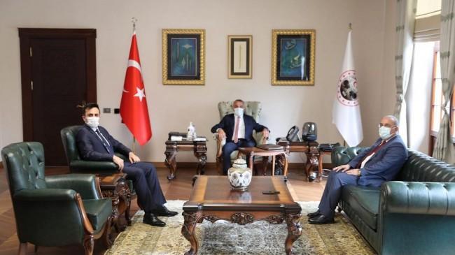 Başsavcı Kapağan ve Başkan Yeltepe'den Vali Bilgin'e ziyaret