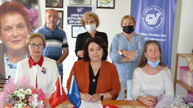 ÇYDD Kırklareli Şubesi, 27 yılını kutladı