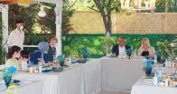 15 Temmuz Şehidin  Ailesi ve Gazinin  onuruna yemek