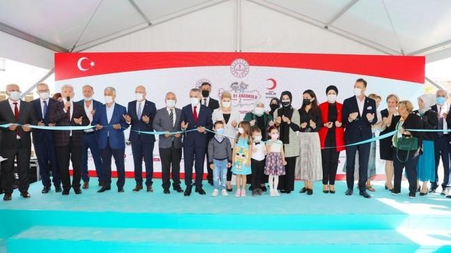 Gülcan Kazım Gürbüz Kızılay Anaokulu Açıldı