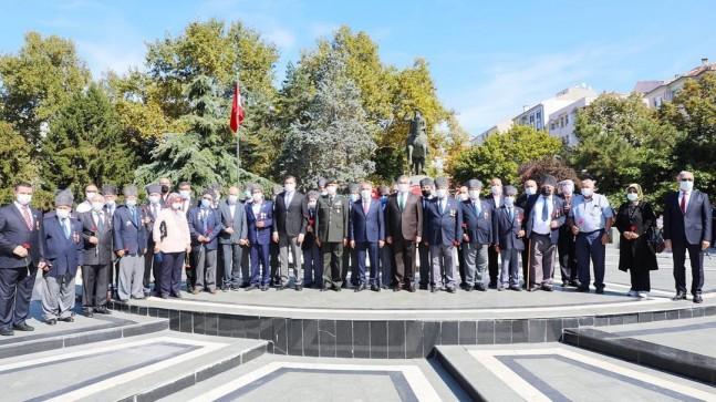 Kırklareli'de 19 Eylül Gaziler Günü Törenlerle Kutlandı