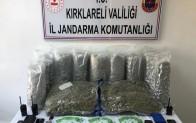 Kırklareli'de suç örgütüne operasyon: 5 gözaltı